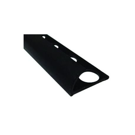 PERFIL LISO  NEGRO 8.5x2.48 cm