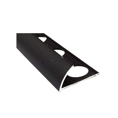 PERFIL ALUMINIO BLACK MATTE 10 x 2.44 cm